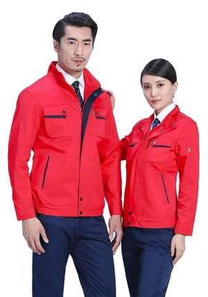 石油工作服等于红色吗